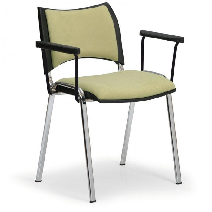 be9cc6dd6413 Konferenčná stolička SMART - chrómované nohy